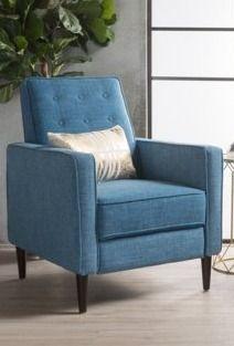 Strick   Bolton Simone Mid Century Recliner Club Chair Set  Retail 294 45