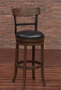 Siena 34in  swivel tall bar stool
