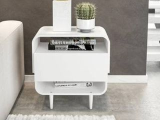 Broahaus White Console Table