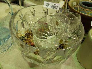 lot of Crystal Dishes Made in Germany