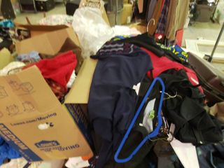 lARGE lot of Assorted Clothing  BRING OWN BOXES