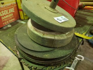 lot of Grinding Wheels and Saw Blades