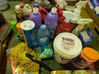 large lot of Cleaning Products