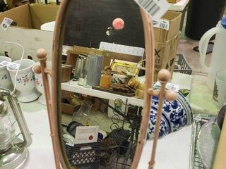 Table Top Mirror with Bird