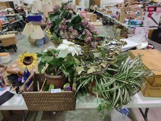 lot of Artificial Plants