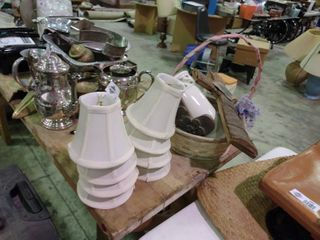 lot of Home Decor and Mini lamp Shades