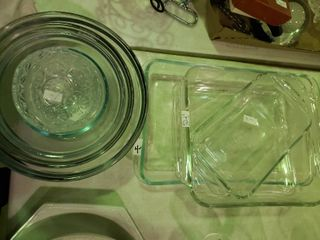 lot of Glass Bake ware