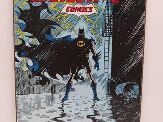 Batman DC  Detective Comics  13  x 19  Wooden Wall Decor   2014