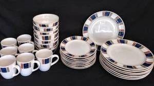 Pfaltzgraff Stoneware  Riviera  Dinnerware   31 Pieces