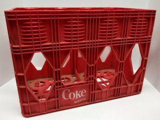 Vintage Coca Cola Coke Plastic 2 liter Crate   From Wichita
