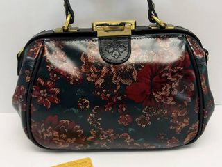 Patricia Nash Fall Tapestry Small Paris Satchel a Fall Tapestry Gold