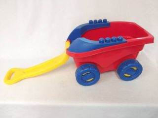 Kid s Mega Bloks Stow   Go Pull Cart