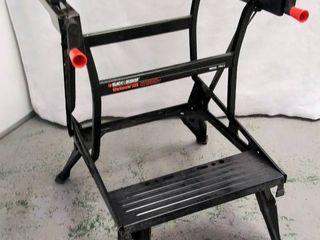 Black   Decker Workmate 225   30 in  Folding Portable Workbench   Vise
