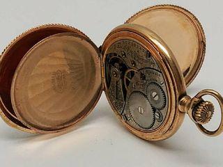 Antique Elgin Hunter Case Pocket Watch   15 Jewel   Serial Number  10238142