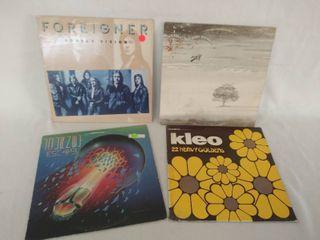 4 Vintage Albums   Foreigner  Double Vision  Journey  Escape  Genesis    KlEO  22 Heavy Goldens
