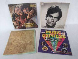 4 Vintage Albums   The Monkees  James Taylor   K Tel