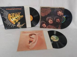 3 Vintage Albums    Heavy Metal   1974   Rubber Soul  from the Beatles    Manfred Mann s Earth Band