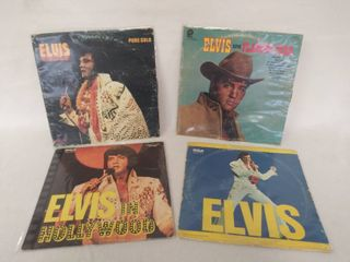 4 Iconic Elvis Presley Albums    Pure Gold   Flamingo Star   In Hollywood    1973  Elvis