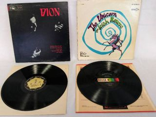 2 Folk Rock Albums from the 60 s   The Irish Rovers  The Unicorn  Album from 1967  Dl 74951    Dion from 1968  SlP 2047