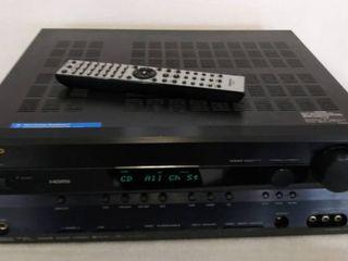 Onkyo HT R550 AV Receiver 7 1 Surround Sound Theater System w Remote