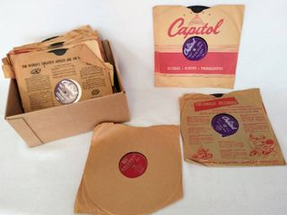 lot of 21 Mid Century 10    78 RPM Albums   Various Artists