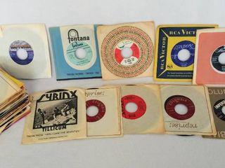 lot of 55   Vintage 45 Albums