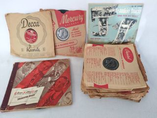 lot of 32 Vintage 10    78 RPM Albums   Various Artists