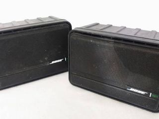 BOSE 151 Pair  2  Environmental Indoor Outdoor Speakers   Vintage from the 90s