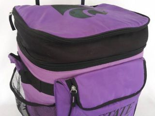 K State 24 Can Cooler with Wheels   Extending Handle