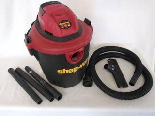 Shop Vac 5 Gallon 2 0 Peak HP Wet Dry Vacuum   Tested