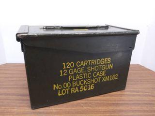 Vintage Ammo Metal Box