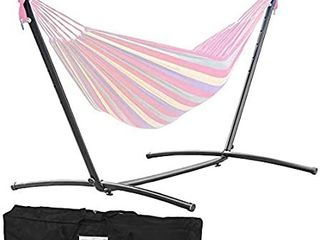 multicolor hammock with stand