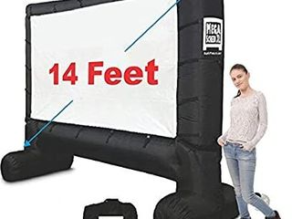 inflatable movie screen indoor outdoor