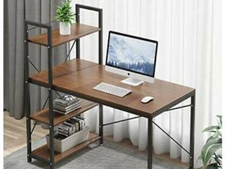 Bestier Computer Desk Home Office Writing Study Wooden Table Workstation