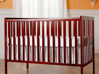 Dream On Me Synergy 5 in 1 Convertible Crib Cherry