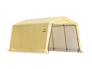 Sandstone Peaktop Storage Shed   10 x 15 x 8