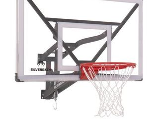 Silverback SBX 54  Wall Mounted Adjustable Height Basketball Hoop with QuickPlay Design