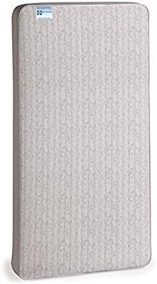 Sealy Baby Firm Rest Antibacterial Waterproof Standard Toddler   Baby Crib Mattress   204 Premium Coils  Healthy Clean  51 7a x 27 3