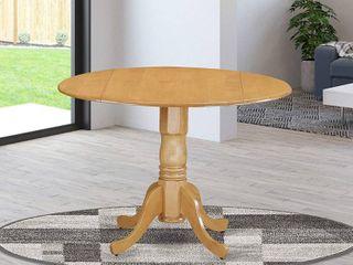 East West Furniture DlT OAK TP Dublin Table   Oak Table Top Surface