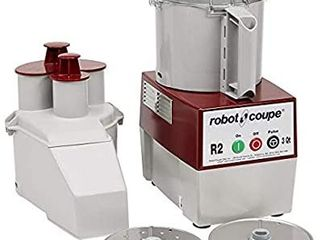Robot Coupe   4581 R2N Continuous Feed Combination Food Processor with 3 Quart Polycarbonate Bowl  1 HP  120 Volts