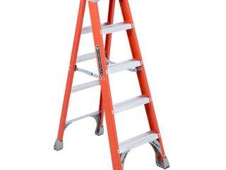 louisville ladder FS1505 300 Pound Duty Rating Fiberglass Step ladder  5 Feet
