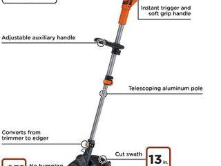 BlACK DECKER  lST136  40V Max String Trimmer   Edger  13 Inch