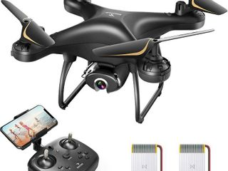 SNAPTAIN SP650 1080P Drone with Camera for Adults 1080P HD live Video Camera Drone for Beginners w Voice Control  Gesture Control  Circle Fly  High Speed Rotation  Altitude Hold  Headless Mode