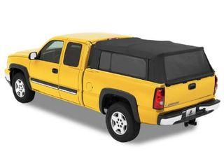 Bestop 7631035 Black Diamond Supertop for Truck   5 5  Bed for 2004 2017 Chevy GMC Silverado Sierra 1500 Crew Cab
