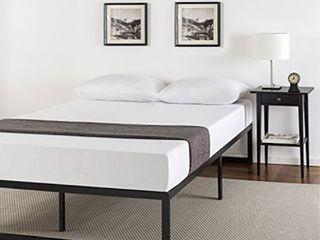 Zinus Abel 14 Inch Metal Platform Bed Frame with Steel Slat Support  Mattress Foundation  Full