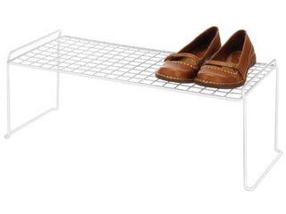 Whitmor 6023 3120 Stacking Shelf  long  White