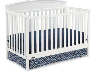Graco Benton 4 in 1 Convertible Crib White