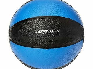 Exercise Weighted Medicine Ball   10 Pounds  Blue And Black
