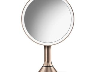 Simplehuman Eight Inch Sensor Makeup Mirror With Brightness Control  Size One Size   Rose Gold