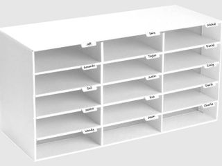 AdirOffice Classroom 15 Compartments Cubby